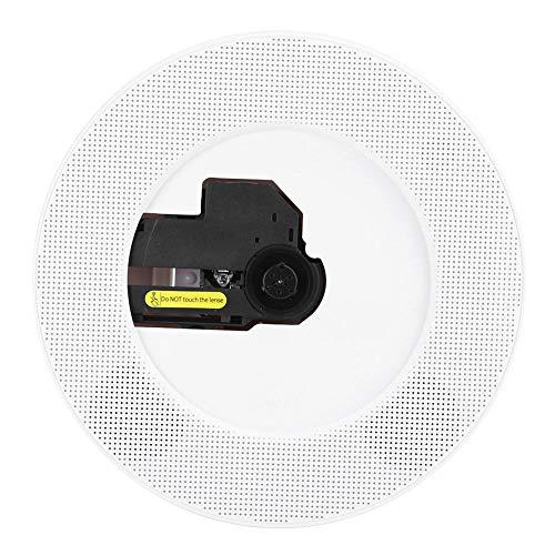 Jugador de CD,Reproductor de CD Bluetooth de Montaje en Pared,HDMI 1080P USB Reproductor de Audio para DVD/CD/VCD / MP3 / WMA/AVM,Reproductor Altavoz de CD Bluetooth Inteligente (EU)