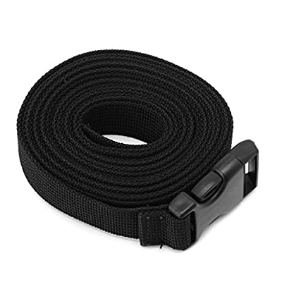 Niceskin Mattress Long Lash Strap for Tied Backpack Luggage Sleeping Bag Outdoor, Nylon (50cm)