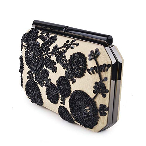 OIJSGP Embrague Monedero de embrague floral de fiesta de graduación de boda para mujer para bolsos de billetera de bolsillo para teléfono móvil, mismo, 18x