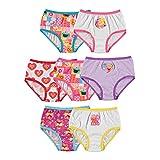 Sesame Street Girls' Toddler Underwear Multipacks, Sesame7pk, 2T/3T