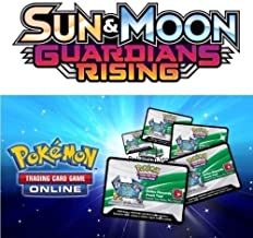 10x Pokemon XY Guardians Rising UNUSED Code Cards TCG Online - Delivery Over Email/Message