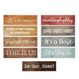 Custom Wood Signs | Personalized Quote | Rustic Farmhouse Wooden Sign | Great Father's Day Gift! | FAST SHIPPING & Ready to Hang!
