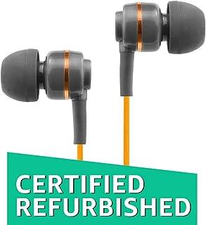 (Renewed) SoundMagic ES18 In-Ear Headphones Without Mic (Orange/Black)