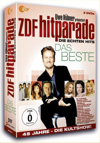Das Beste - Uwe Hübner präsentiert: ZDF Hitparade - Die echten Hits (3 DVDs)