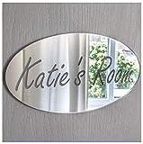 Placa con nombre para la puerta del dormitorio,...
