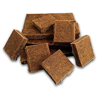 Midwest Hearth 100% Natural Charcoal Starters for BBQ Grill and Barbecue Smokers (24 Squares)