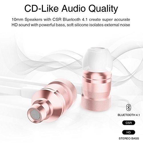 Picun Bluetooth Kopfhörer kabellos IPX4 Bild 4*