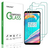 (3 Pack) Beukei for OnePlus 5T Screen Protector Tempered Glass, Anti Scratch, Bubble Free (Not Fit for OnePlus 5)