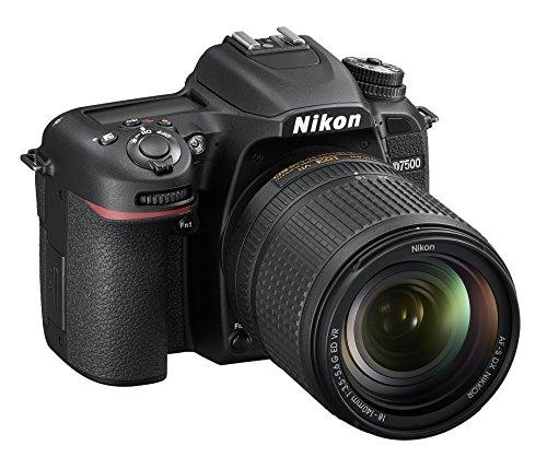 Nikon D7500Digitale Spiegelreflexkamera, 20.9Megapixel, SD-8GB 200x Premium Lexar