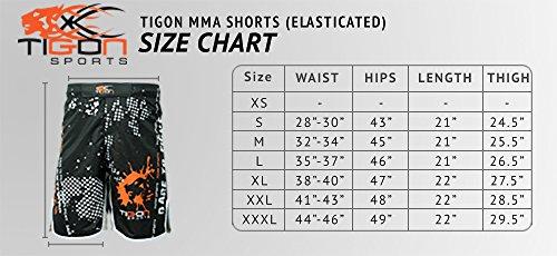 MMA shorts Kick Boxing short Cage Fight Grappling Shorts UFC Martial Arts Shorts Abbildung 3