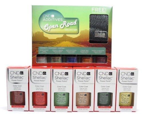 CND Shellac Power Polish Nail Gel Polish Open Road Collection 2014 + Additives by Creative Nail Design