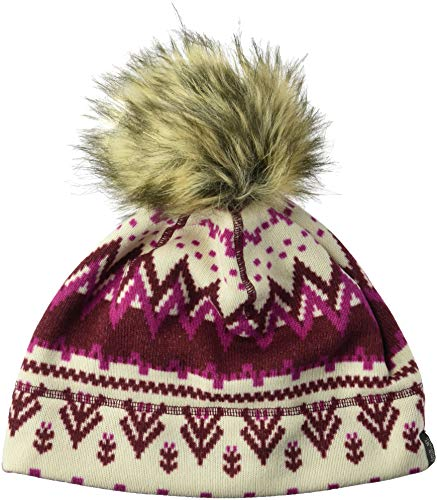 Jack Wolfskin Scandic cap Women Cappello, Garnet Red all Over, L Donna