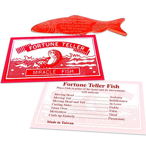 ArtCreativity Large 3.5 Inch Mood Fortune Teller Fish - Set of 72 - Cool Novelty Toy for Kids and Adults - Fun Science Learning Aid - Unique Giveaway, Christmas Party Cracker Toy, Birthday Party Favor