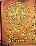 """Notizbuch/Tagebuch mit Spruch """"Follow Your Heart"""", braun-gold metallic, mit gold geprägter Schrift, blanko, Hardcover, Limitierte Auflage"""