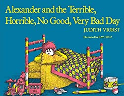 Literature unit study for Alexander and the Terrible Horrible No Good Very Bad Day