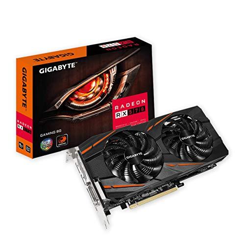 Gigabyte RadeonRX 570 Gaming 8G rev. 2.0 Graphics Card, 2X WINDFORCE Fans, 8GB 256-Bit GDDR6, GV-RX570GAMING-8GD Rev 2.0 Video Card