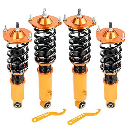 maXpeedingrods Coilovers for Mazda Miata MX5 MX-5 NA NB 1990-2005 Coilover Shock Absorber Suspension Struts