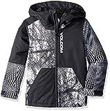 Volcom Jungen Vernon Insulated 2 Layer Shell Snow Jacket Isolierte Jacke, schwarz/weiß, XL