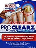 ProClearz Fungal Shield Brush-On Antifungal Liquid, Maximum Strength , 1-Ounce (30 ml) (Pack of 3)