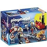 Playmobil City Action Firefighters with Water Pump 2pieza(s) Figura de construcción - Figuras de construcción,, 4 año(s), 10 año(s), Niño, 2 Pieza(s)