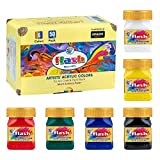 ULTIMATE PERFORMANCE FOR ANY ARTIST – Highest PREMIUM Quality Raw Materials are specially selected to manufacture our PREMIUM quality Acrylic paint set that outperform the many Alternatives in the market. They are uniquely formulated to bring out the...