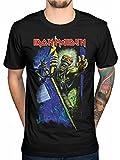 Camiseta Oficial Iron Maiden No Prayer (Negro)