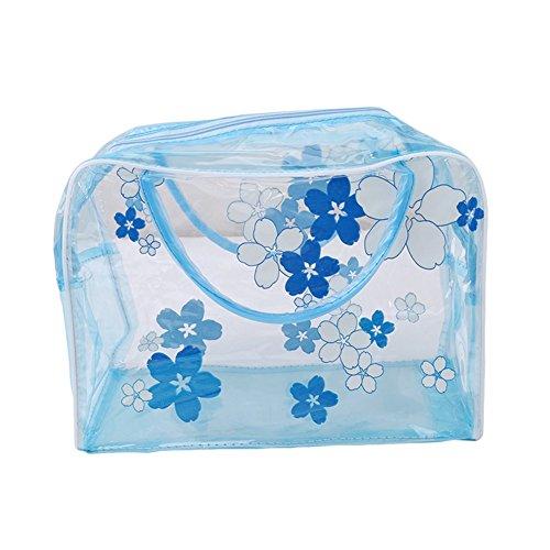 ODN PVC Transparent etanche multifonction sacs cosmetiques