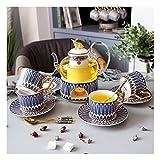 Riyyow Cerámica de té de té de Taza de té de Taza de té de...