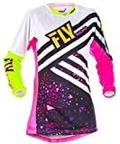 Fly Racing Girls Jersey Kinetic Pink Gr. XL