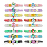 16 Pieces Mask Extender Strap(Include 8 Colors), 5.5 Inches Adjustable Mask Strap for Reducing Ear Pain, Cartoon Mask Ear Protector Mask Hook for Kids and Adult