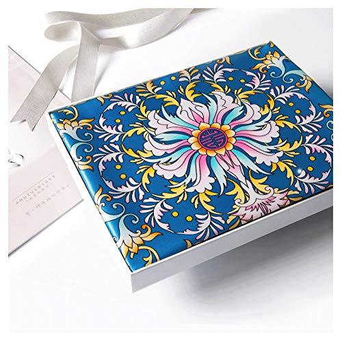 hkwshop Bufandas Chal Ligera Bufanda de Moda Impreso Damas Wrap súper Bufandas Sedoso Plaza Chal, for Las señoras Moda Bufandas (Color : A6)