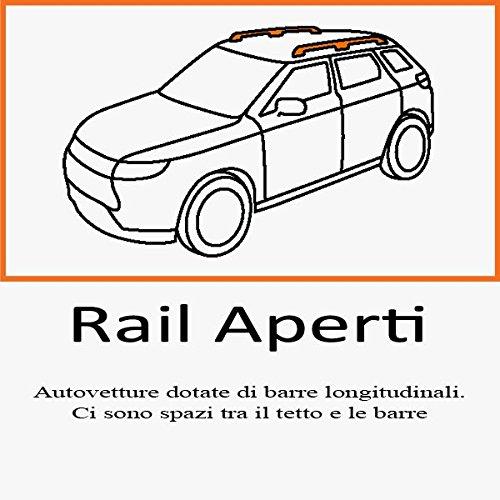 Dachträger für Skoda Fabia III Wagon ab 2015Rails Typ Brio