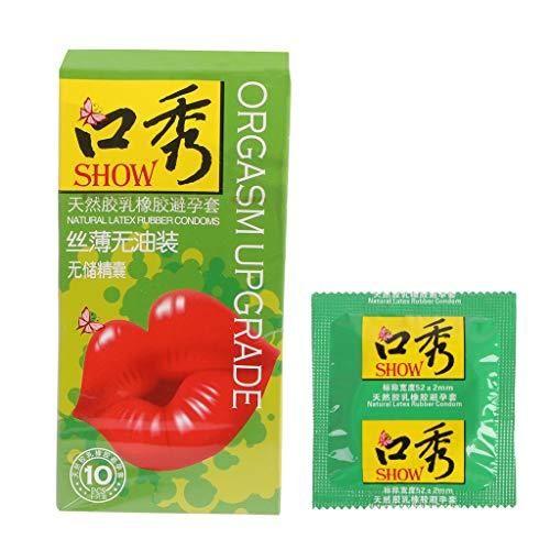 Changzhou 10pcs Sin condones de aceite diseñados específicamente para el sexo oral ultra delgado condón de látex