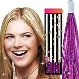 HAIR DAZZLE - Extensiones brillantes para el pelo