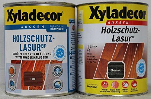 Xyladecor Holzschutzlasur BP teak 1 Liter