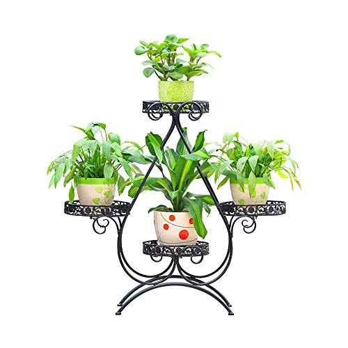 Plant Bloem Display Stand Bloem Stand Meerlagige Smeedijzeren Bloem Stand Pannenlap Woonkamer Balkon Plant Kleurrijke Bloembak Ouders Balkons Plant Woonkamer