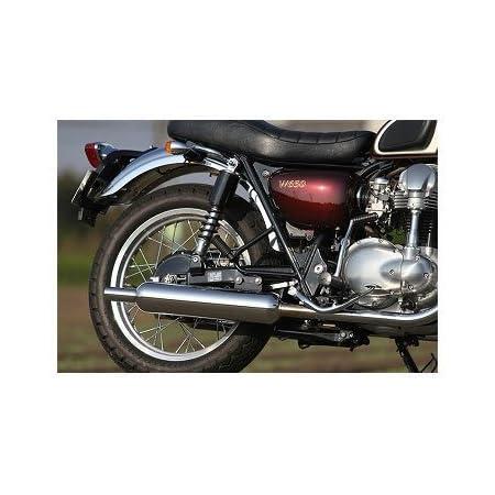 アールズギア(r's gear) フルエキゾーストマフラー ワイバンクラシック ツイン クラシカル W400 WK19-02CT