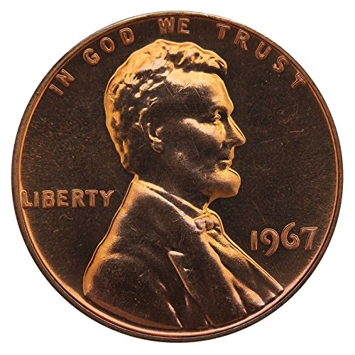 1967 Gem Special Mint Set SMS Lincoln Memorial Cent Penny Uncirculated...