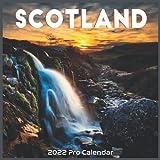 Scotland 2022 Calendar: Official Scotland UK constituent country Calenda 2022 16 Months