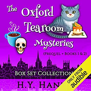 The Oxford Tearoom Mysteries Box Set Collection I audiobook cover art