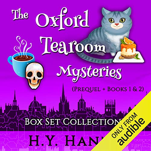 The Oxford Tearoom Mysteries Box Set Collection I cover art