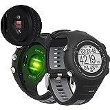 Reloj Inteligente Digital EZON T907-HR, cómodo Reloj con Monitor de frecuencia cardíaca, Bluetooth multifunción para Hombres para Mujeres