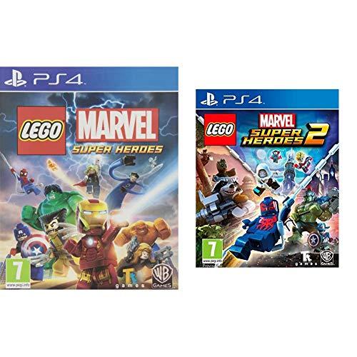 Warner Bros Interactive Spain (VG) LEGO Marvel Super Heroes - Edición Estándar + Lego Marvel Super Heroes 2