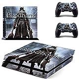 Bloodborne Ps4 Pegatinas Play Station 4 Skin Ps 4 Pegatinas Calcomanías Cubierta Para Playstation 4 Ps4 Consola y Controlador Skins Vinilo