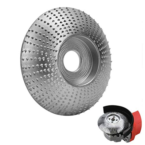 Find Bargain Napoo Woodworking Grinder Shaping Disc 5/8 Tungsten Carbide Abrasive Angle Grinder Whee...