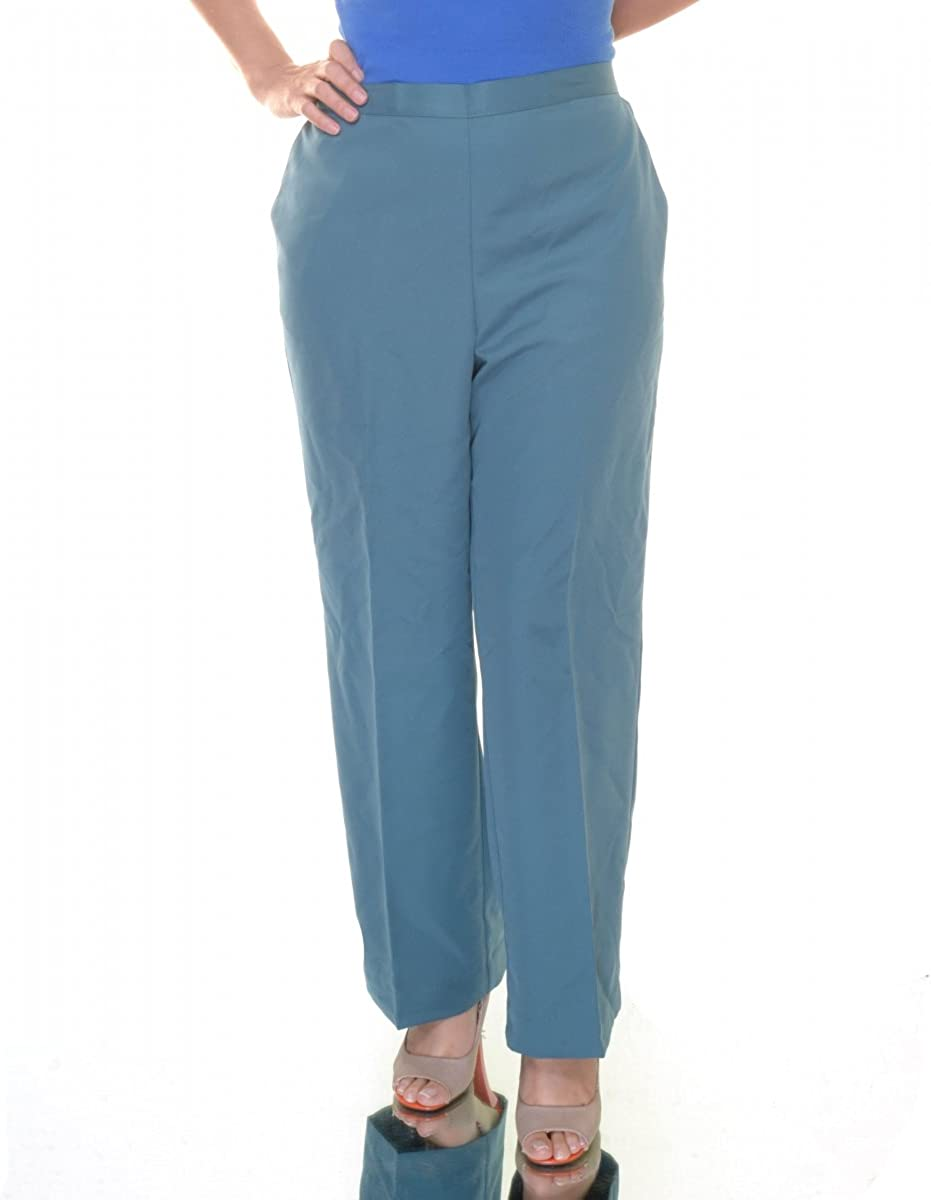 Alfred Dunner Lake Meade Flat Front Pants