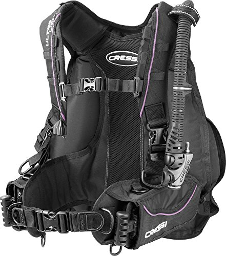 Cressi Ultralight BCD, Foldable Lightest BC on The Scuba Diving Market