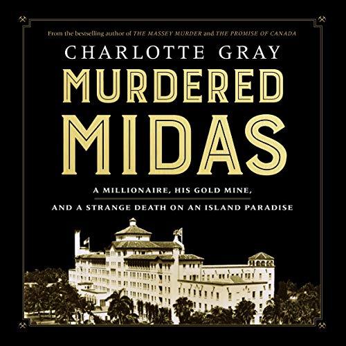 Murdered Midas audiobook cover art