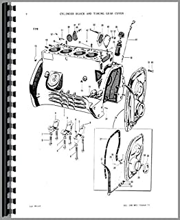 Parts Manual Massey Ferguson Super 90 Tractor