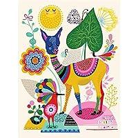 クリエイティブな装飾的なパズル、品質の親子のおもちゃ、300/500/1000/5000 / 6000/3000/3000 0219 (Color : A, Size : 1500 pieces)